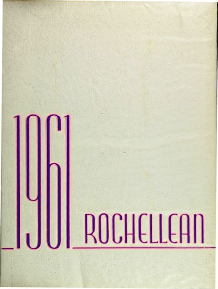 1961 New Rochelle High School Yearbook Cover