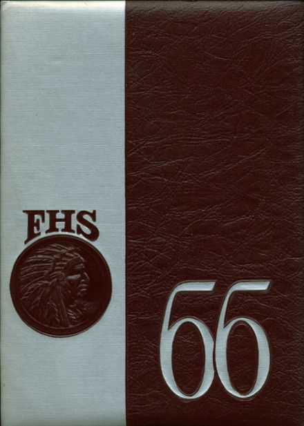 1966 Farmington High School Yearbook Cover