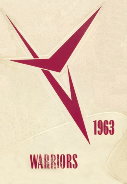 1963 Oaks-Mission High School Yearbook Cover