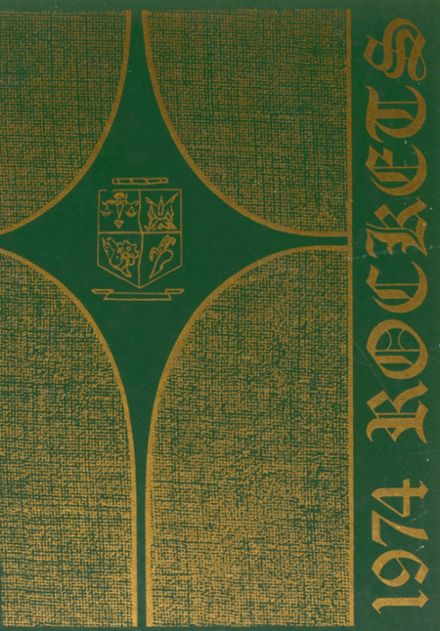 1974 Fayetteville High School Yearbook Cover