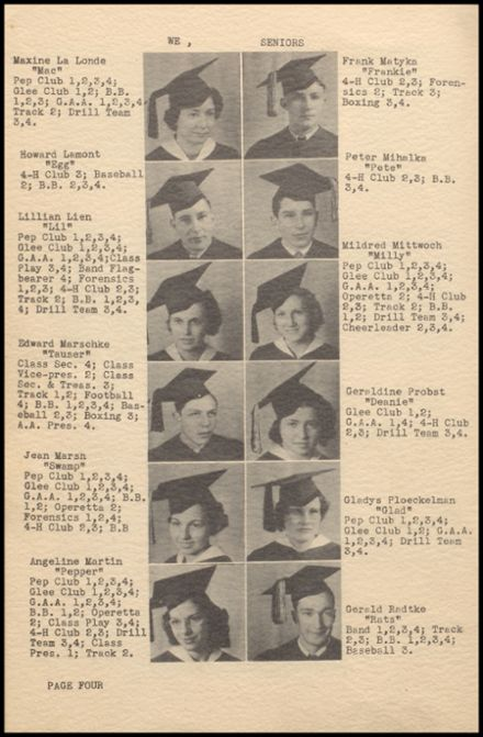 1937 Rib Lake High School Yearbook Page 8
