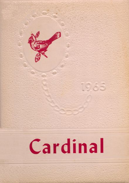 1965 Dollarway High School Yearbook Cover