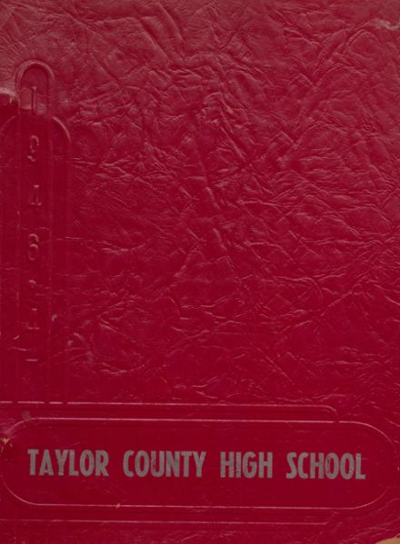 1947 Taylor County High School Yearbook Page 1
