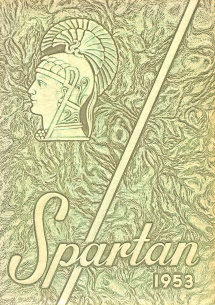 1953 Spearfish High School Yearbook Cover