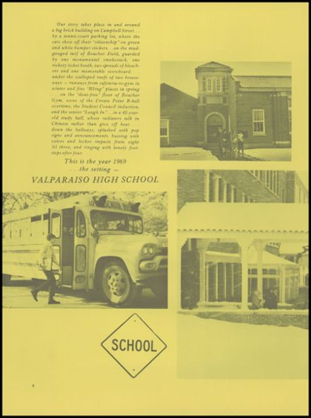 1969 Valparaiso High School Yearbook Page 8