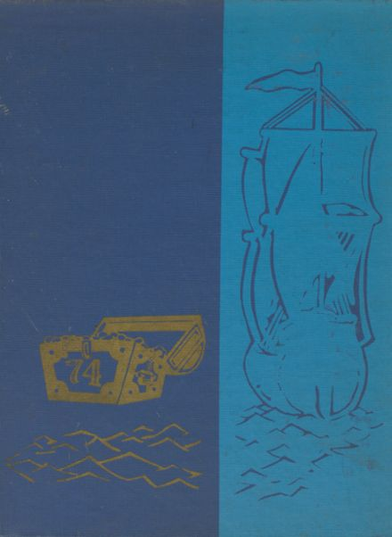 1974 Mergenthaler Vocational Technical High School 410 Yearbook Cover