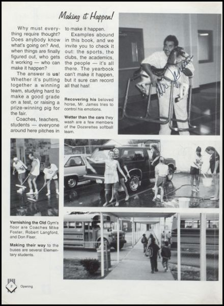 1993 Lavaca High School Yearbook Page 6
