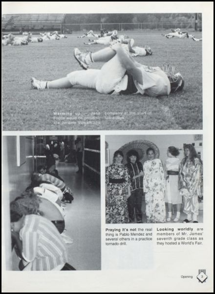 1993 Lavaca High School Yearbook Page 7