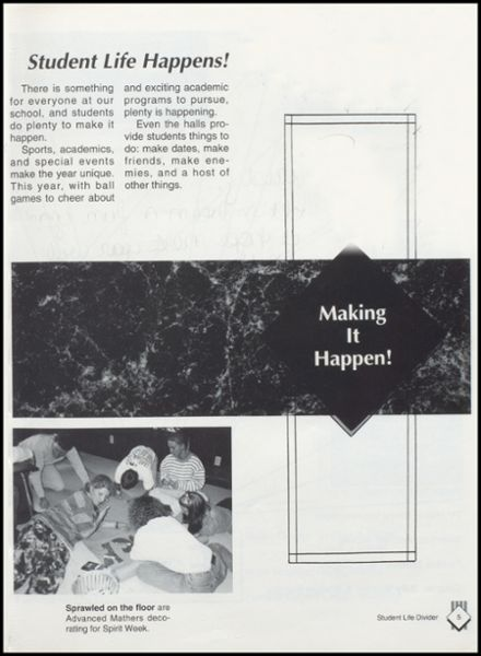 1993 Lavaca High School Yearbook Page 9