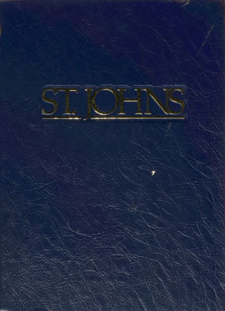 1992 St. Johns Country Day Yearbook Cover