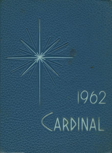 1962 Redwood Falls High School Yearbook Cover