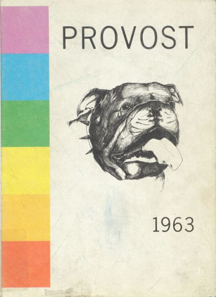 1963 Provo High School Yearbook Cover