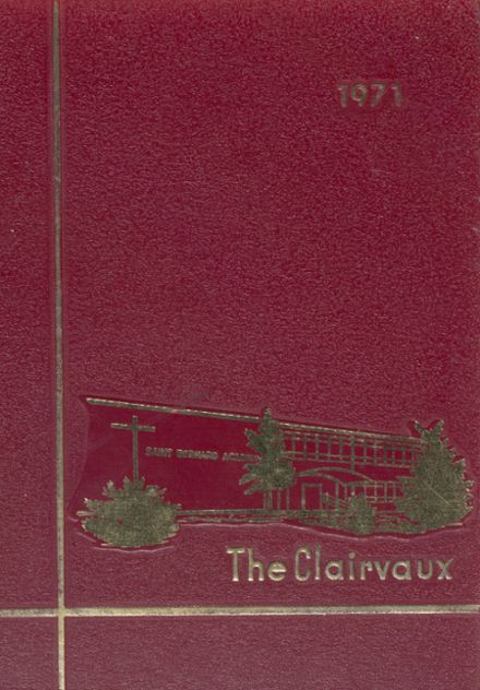 1971 St. Bernard Academy Yearbook Cover