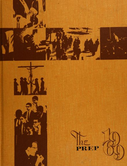 1969 Queen of Angels High School Yearbook Cover
