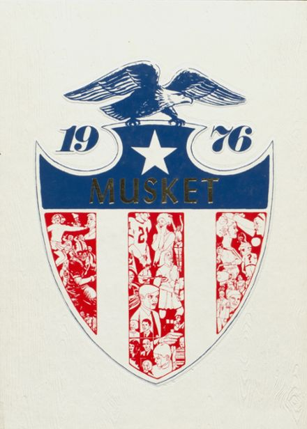 1976 Boonville High School Yearbook Cover