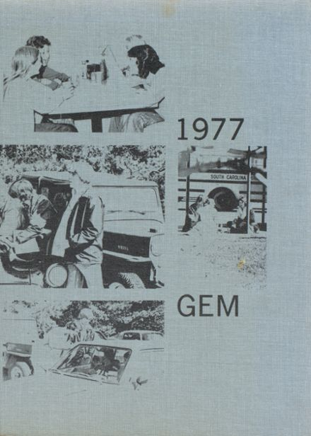 1977 Pickens High School Yearbook Cover