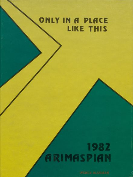 1982 Ramapo High School Yearbook Cover