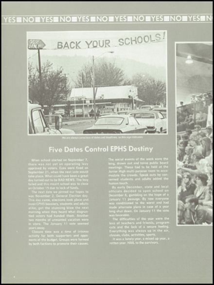 1977 Eagle Point High School Yearbook Page 8