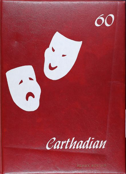 1960 Carthage High School Yearbook Cover