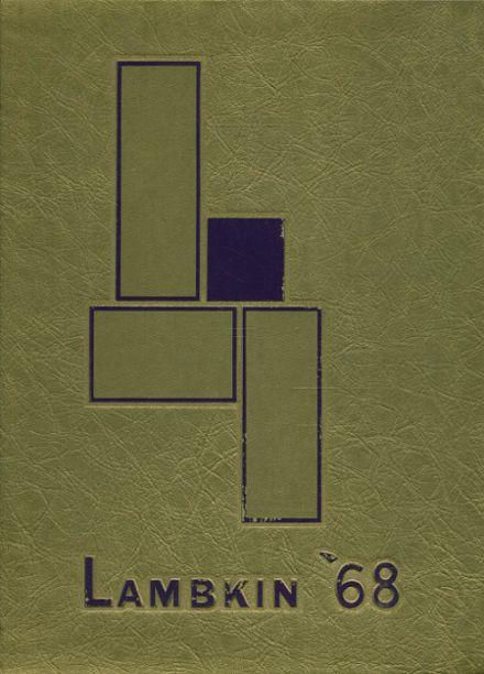 1968 Ft. Collins High School Yearbook Cover