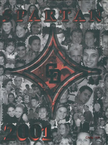 2001 Central Davidson High School Yearbook Cover
