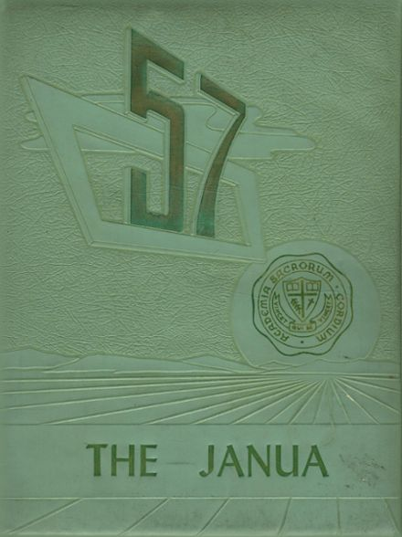 1957 Sacred Hearts Academy Yearbook Cover