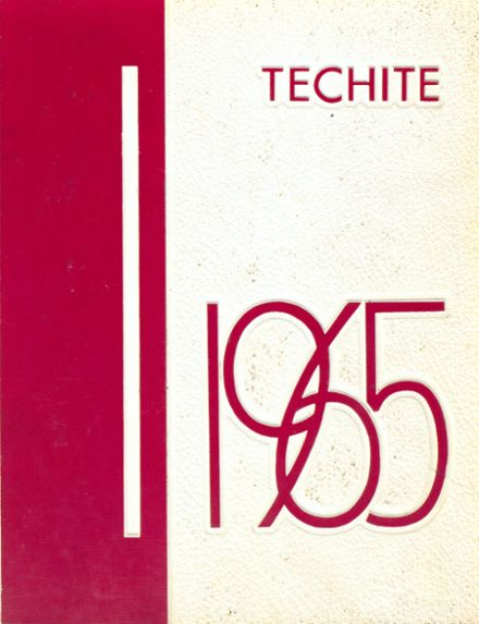 1965 Mckinley Technical High School Yearbook Cover