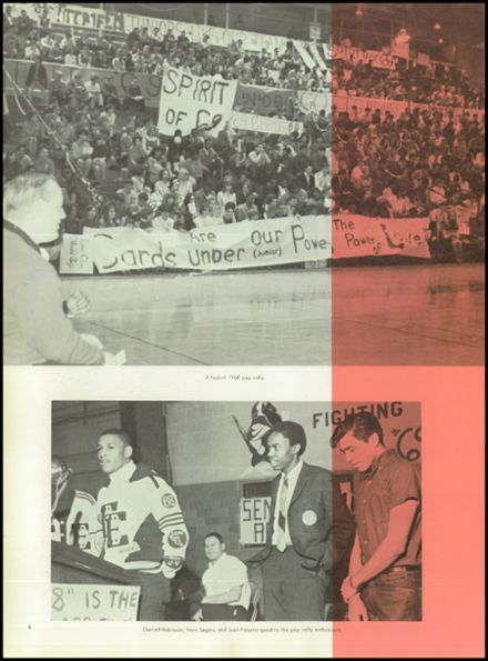 1968 Eisenhower High School Yearbook Page 6