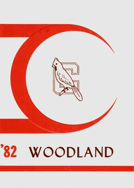 1982 Woodland High School Yearbook Cover