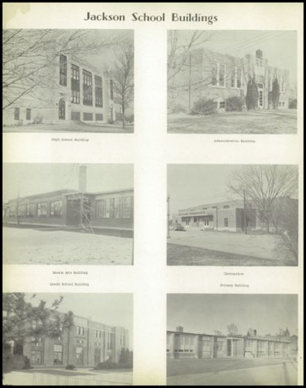 1957 Jackson High School Yearbook Page 6