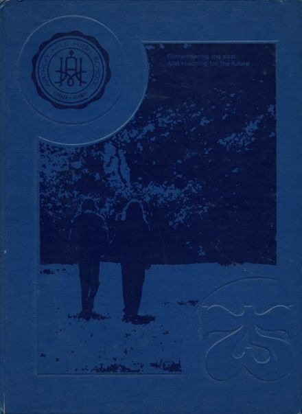 1975 Arthur Hill High School Yearbook Cover