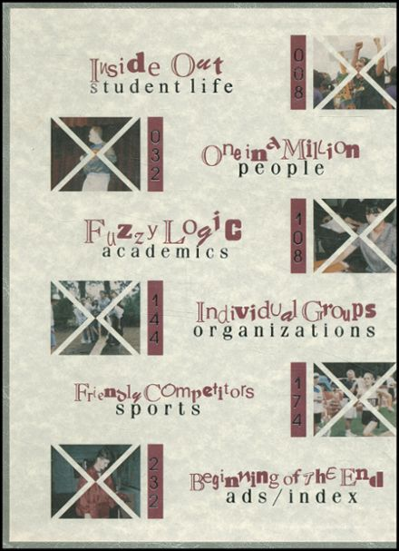 1997 Cy-Fair High School Yearbook Page 2