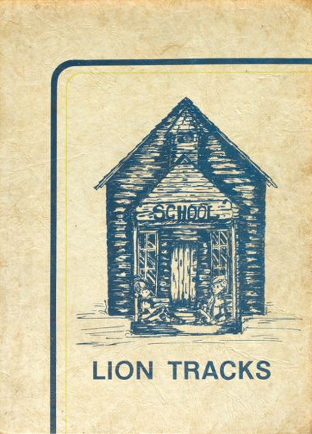 1974 Cottage Grove High School Yearbook Cover