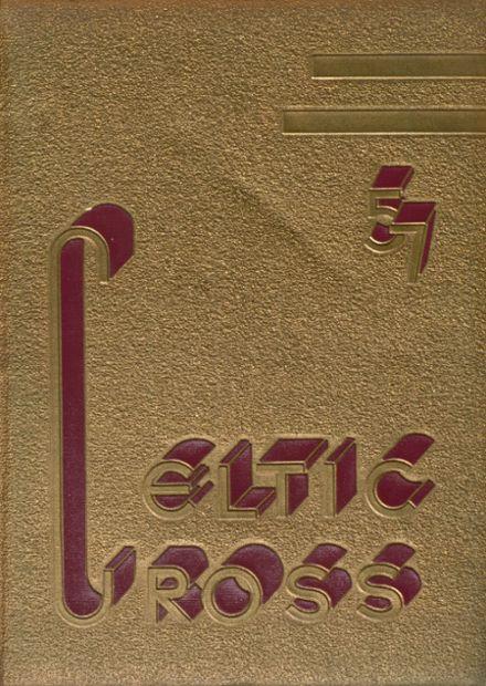 1957 St. Patrick High School Yearbook Cover
