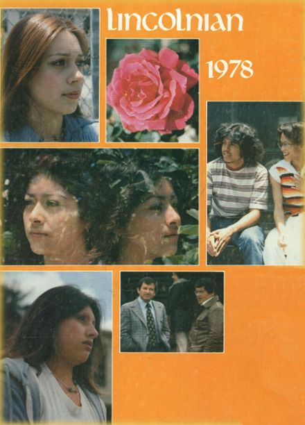 1978 Abraham Lincoln High School Yearbook Cover