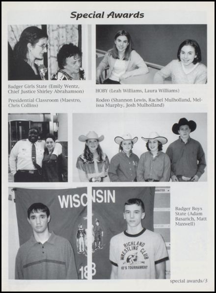 2000 Richland Center High School Yearbook Page 7