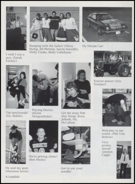 2000 Richland Center High School Yearbook Page 8