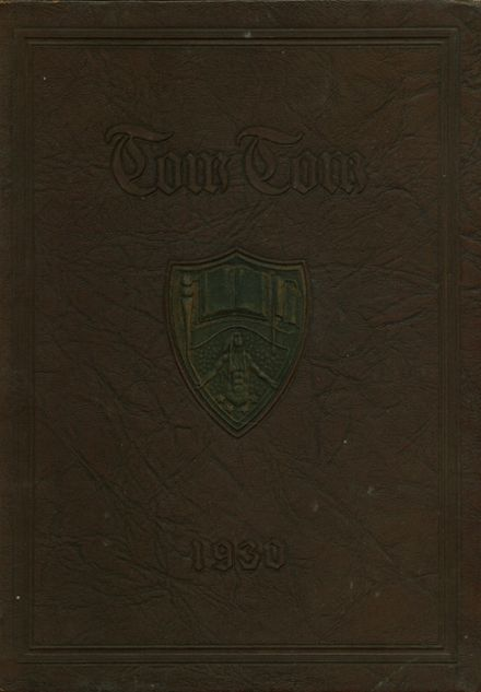 1930 Central High School Yearbook Cover