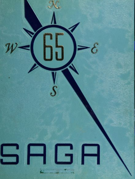 1965 Woodward High School Yearbook Cover