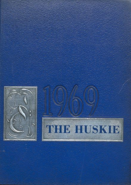 1969 Mason City High School Yearbook Cover