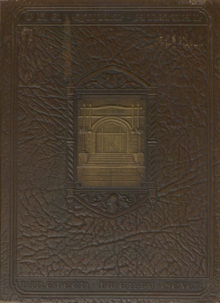 1927 Enid High School Yearbook Cover