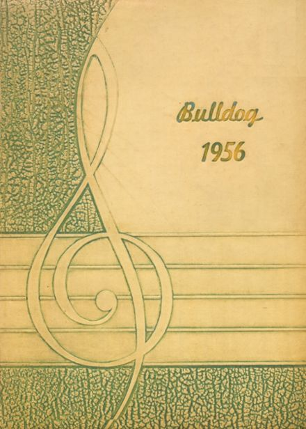 1956 Big Pasture High School Yearbook Cover