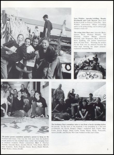 2002 Rib Lake High School Yearbook Page 9