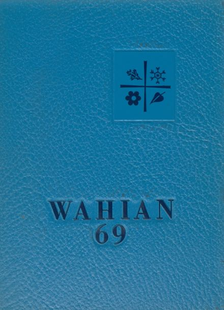 1969 Washburn High School Yearbook Cover