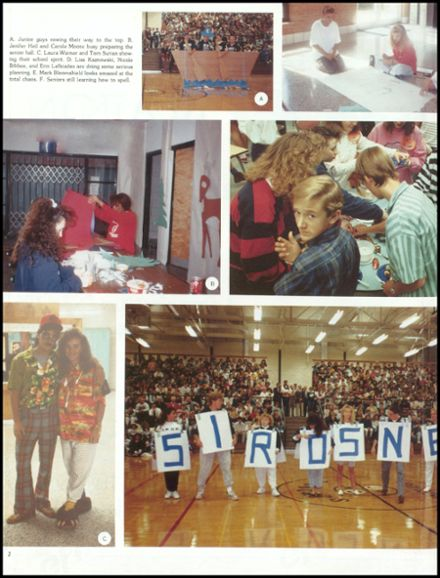1990 John Glenn High School Yearbook Page 6