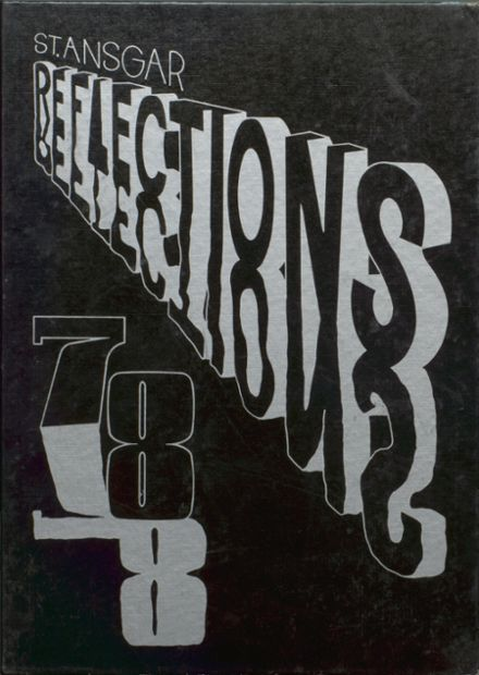 1978 St. Ansgar High School Yearbook Cover
