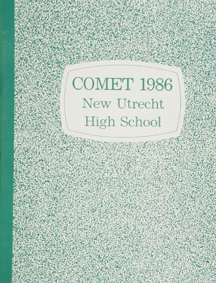 1986 New Utrecht High School Yearbook Cover