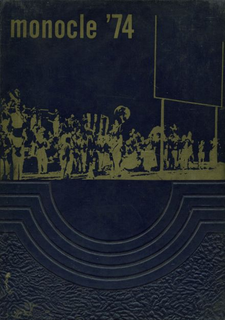 1974 Lemon Monroe High School Yearbook Cover