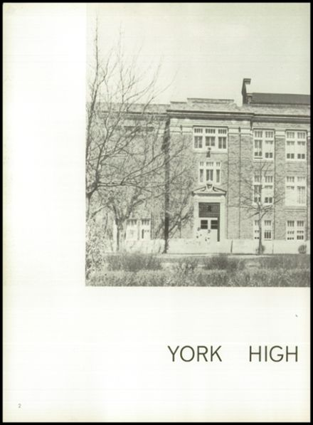 1964 York High School Yearbook Page 6