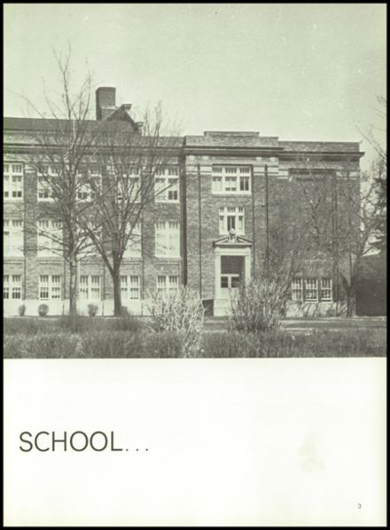 1964 York High School Yearbook Page 7